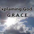 What Jesus did for us on the Cross is the very essence of God's Grace being displayed for us all to see and receive. The Gospel Message is so simple...