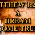 "KEY VERSE: Matthew 1:20-21 (ESV) 20 But as he considered these things, behold, an angel of the Lord appeared to him in a dream, saying, ""Joseph, son of David, do […]"