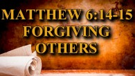 KEY VERSE: Matthew 6:14-15 (ESV) 14 For if you forgive others their trespasses, your heavenly Father will also forgive you, 15 but if you do not forgive others their trespasses, neither will […]