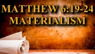 "KEY VERSE: Matthew 6:19-24 (ESV) 19 ""Do not lay up for yourselves treasures on earth, where moth and rust destroy and where thieves break in and steal, 20 but lay […]"