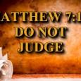 Do Not Judge Bible Study