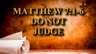 Do Not Judge Bible Study