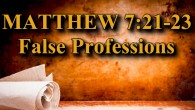 "KEY VERSE: Matthew 7:21-23 (ESV) 21 ""Not everyone who says to me, 'Lord, Lord,' will enter the kingdom of heaven, but the one who does the will of my Father […]"