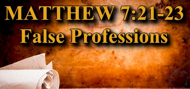 """KEY VERSE: Matthew 7:21-23 (ESV) 21 """"Not everyone who says to me, 'Lord, Lord,' will enter the kingdom of heaven, but the one who does the will of my Father […]"""
