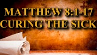 KEY VERSE: Matthew 8:1-17 (ESV) Jesus Cleanses a Leper 8 When he came down from the mountain, great crowds followed him. 2 And behold, a leper came to him and […]